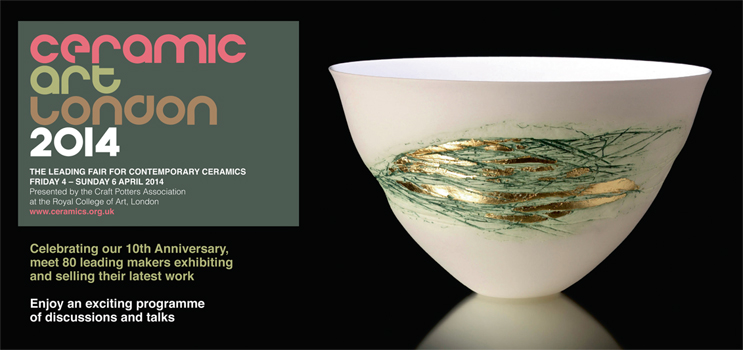 Angela Mellor will be at Ceramic Art London, 4-6 April 2014, the Royal College of Art, Stand 43
